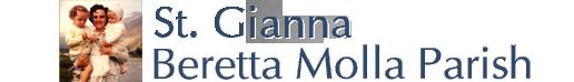 St. Gianna Beretta Molla Parish